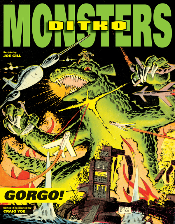 Cover of Ditko's Monsters: GORGO!