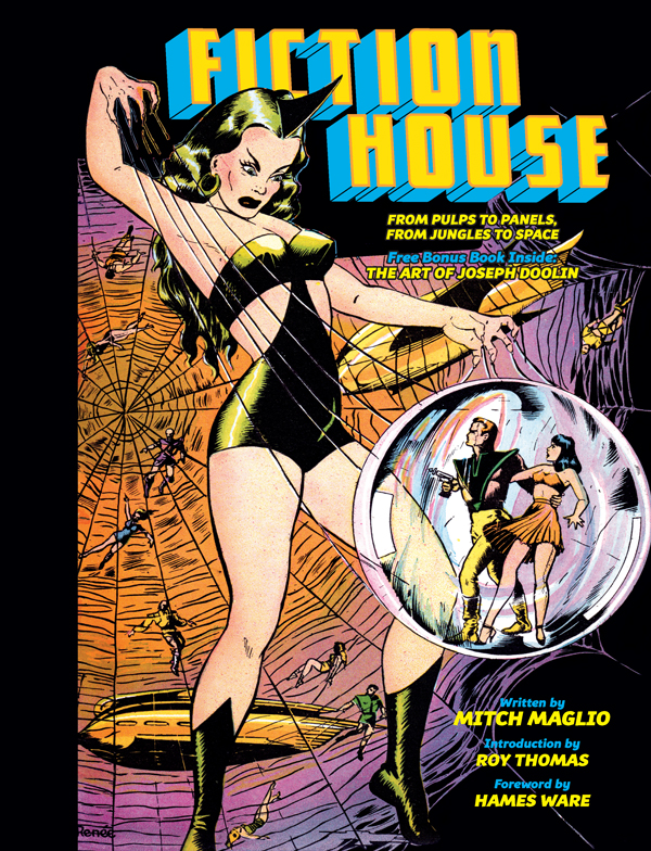 Cover of FICTION HOUSE: From Pulps To Panels, From Jungles To Space by Mitch Maglio