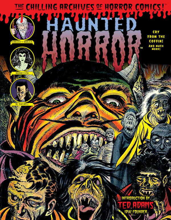 Cover of HAUNTED HORROR: Cry from The Coffin (Volume 7)