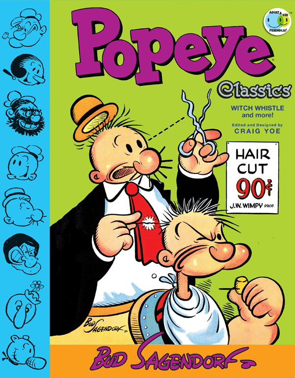 Cover of POPEYE CLASSICS Vol. 3: