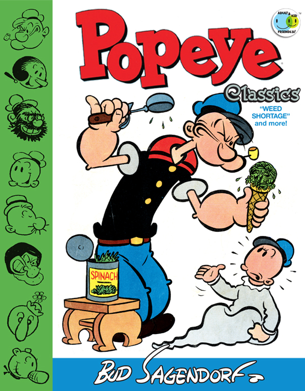 Cover of POPEYE CLASSICS Vol. 6: