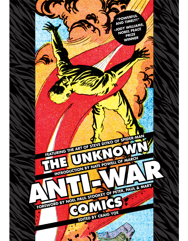 Cover of THE UNKNOWN ANTI-WAR COMICS