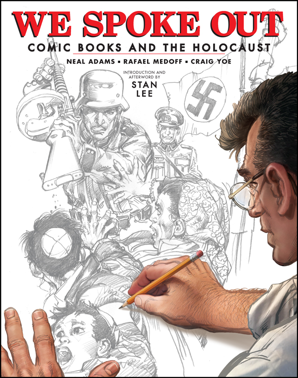 Cover of WE SPOKE OUT: COMIC BOOKS AND THE HOLOCAUST