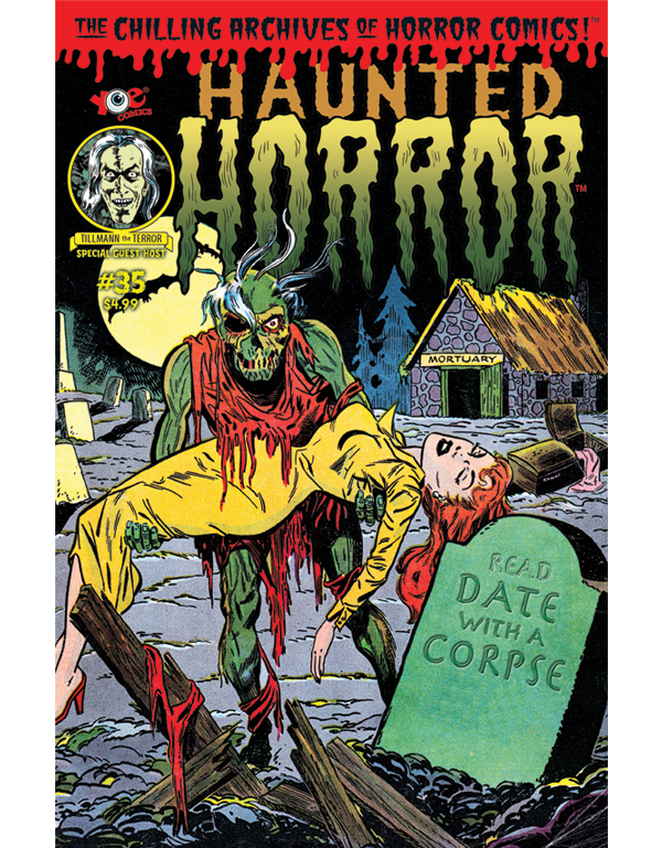 Cover of HAUNTED HORROR #35 comic book