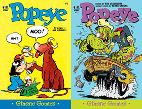 Cover of Popeye Classic #15