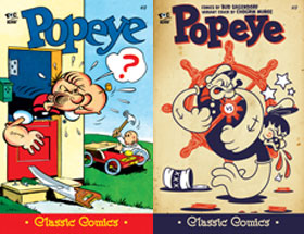 Cover of Popeye Classic #17