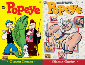 Cover of Popeye Classic #33