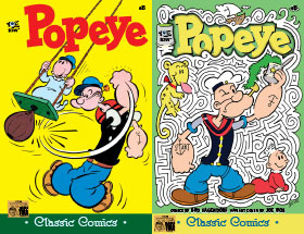 Cover of Popeye Classic #35