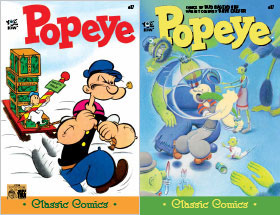Cover of Popeye Classic #37
