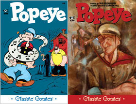 Cover of Popeye Classic #40