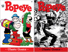 Cover of Popeye Classic #41