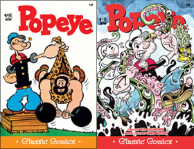 Cover of Popeye Classic #48