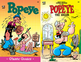 Cover of Popeye Classic #50