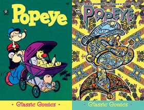 Cover of Popeye Classic #53
