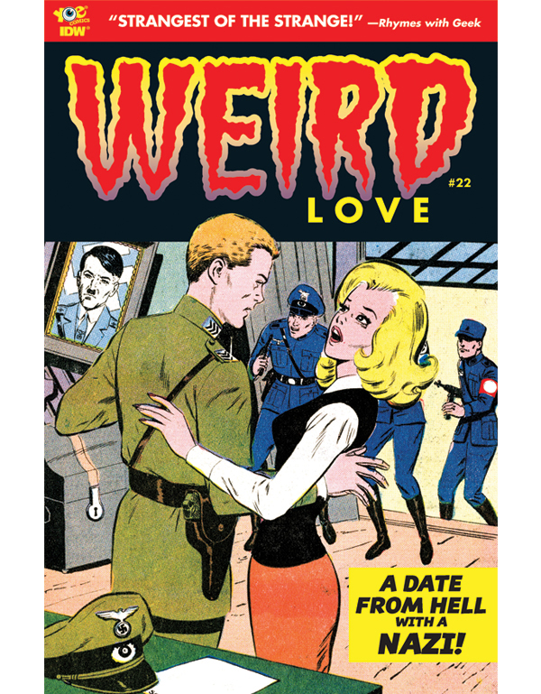 Cover of WEIRD LOVE #22 comic book